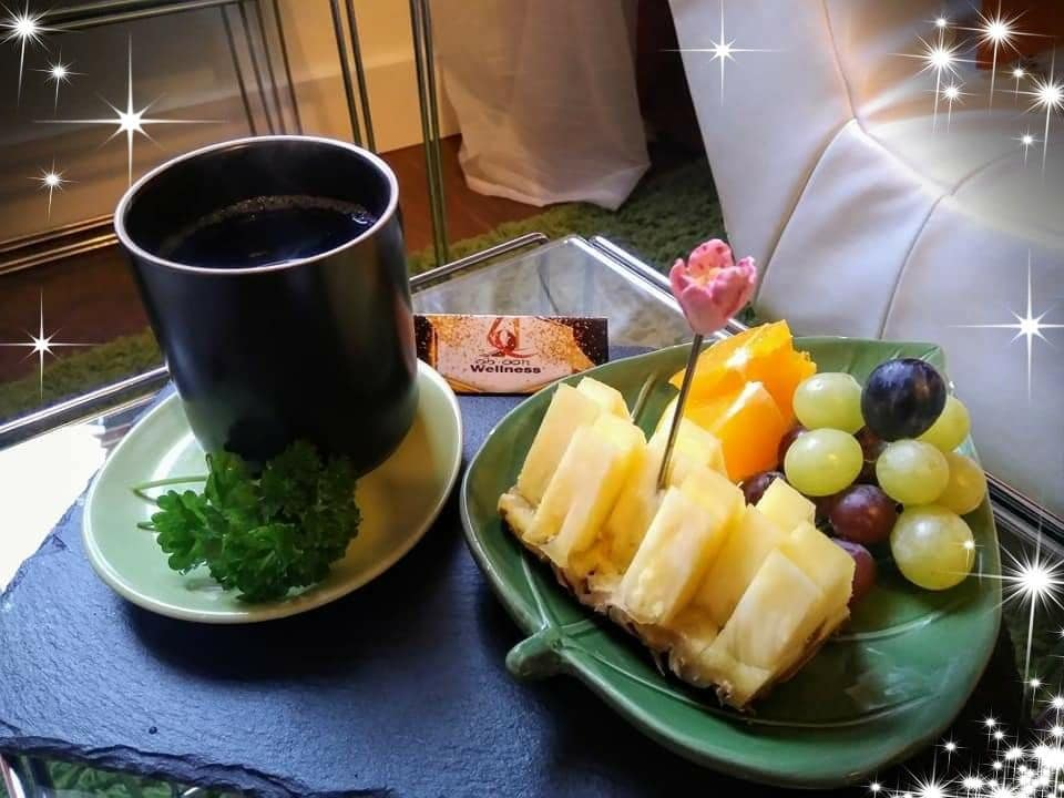 tea & fruits service